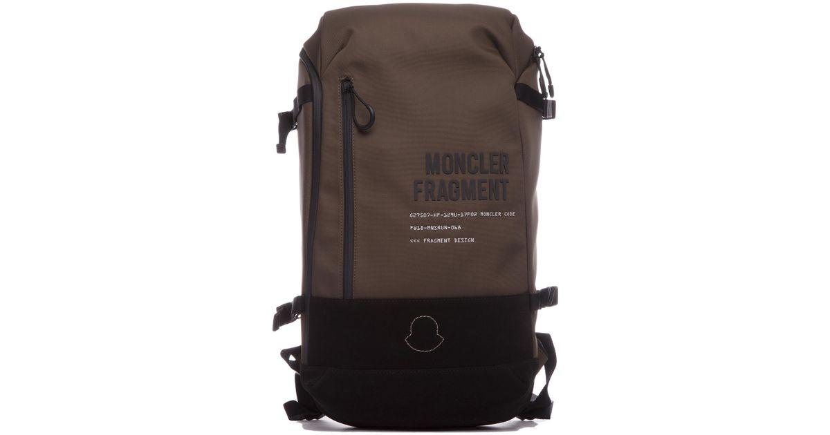 b7a09fe1c Lyst - Moncler 7 Fragment Hiroshi Fujiwara Technical Fabric Backpack ...