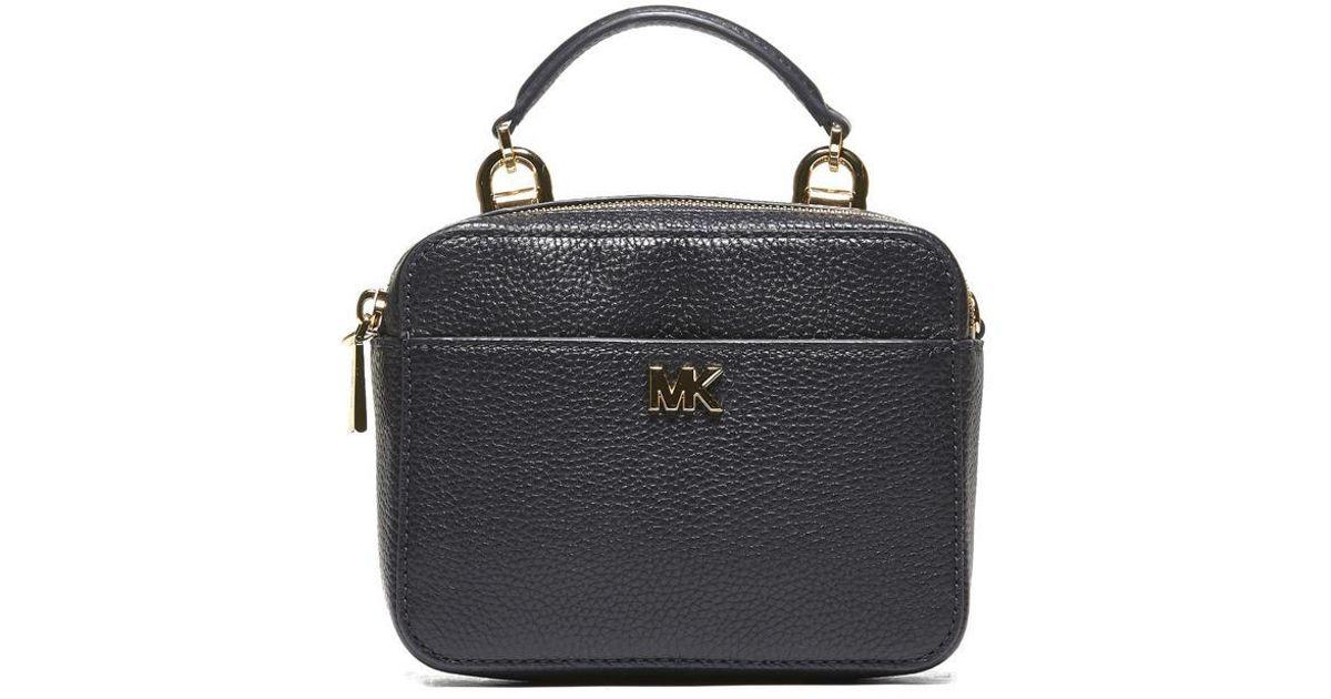 70d89f0227d171 MICHAEL Michael Kors Mini Mott Crossbody Bag in Blue - Lyst