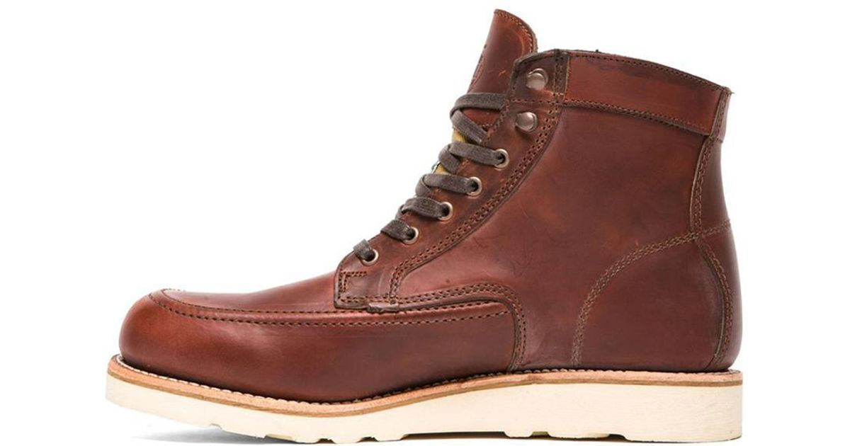cee6c1eb8ff Wolverine Brown 1000 Mile Emerson Boot for men