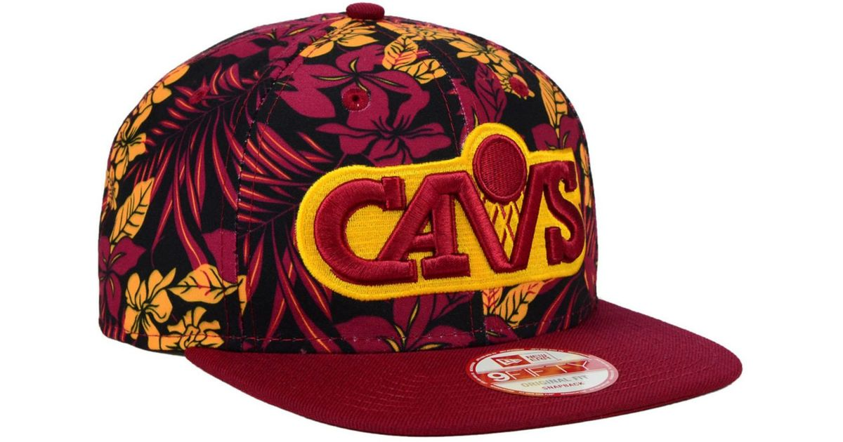 competitive price 7a88c 4e09a KTZ Cleveland Cavaliers Wowie 9fifty Snapback Cap in Purple for Men - Lyst