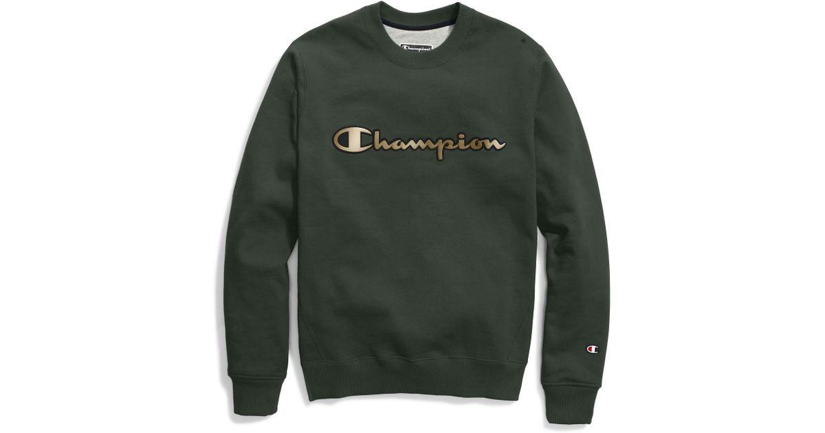 241b21c59dee Lyst - Champion Life® Super Fleece 2.0 Crew