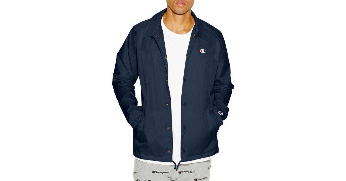 Champion Mens Life Coaches Jacket West Breaker Edition Warm Up or Track Jacket