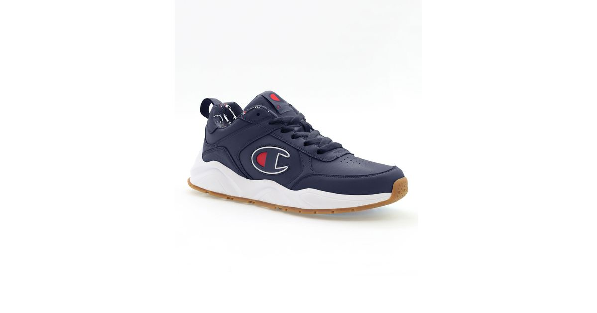 93 Eighteen Leather Shoes, C Logo in
