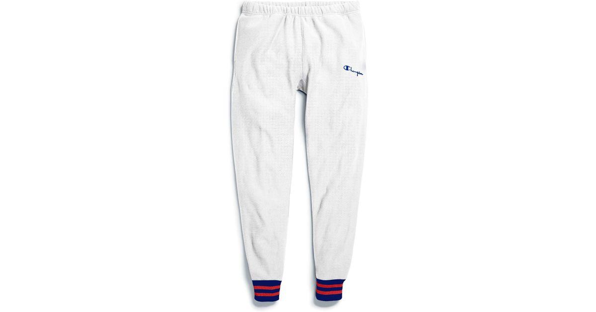 NWT CHAMPION REVERSE WEAVE Men/'s Cuffed Ankle-Zip Sweatpants Joggers Pants