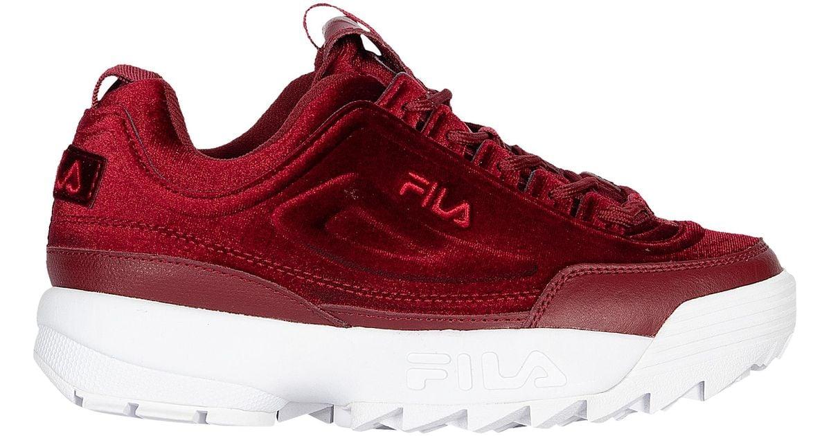 Fila Disruptor Velvet Training Shoes in