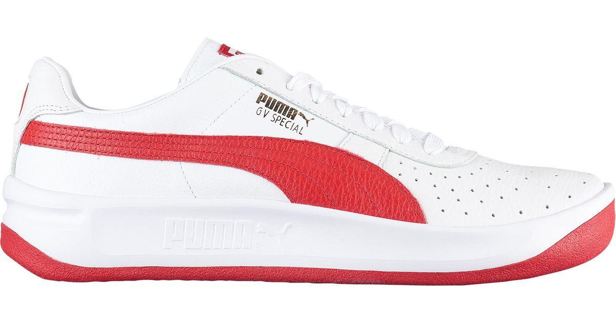new product 03996 119a1 PUMA Red Gv Special + Tennis Shoes for men
