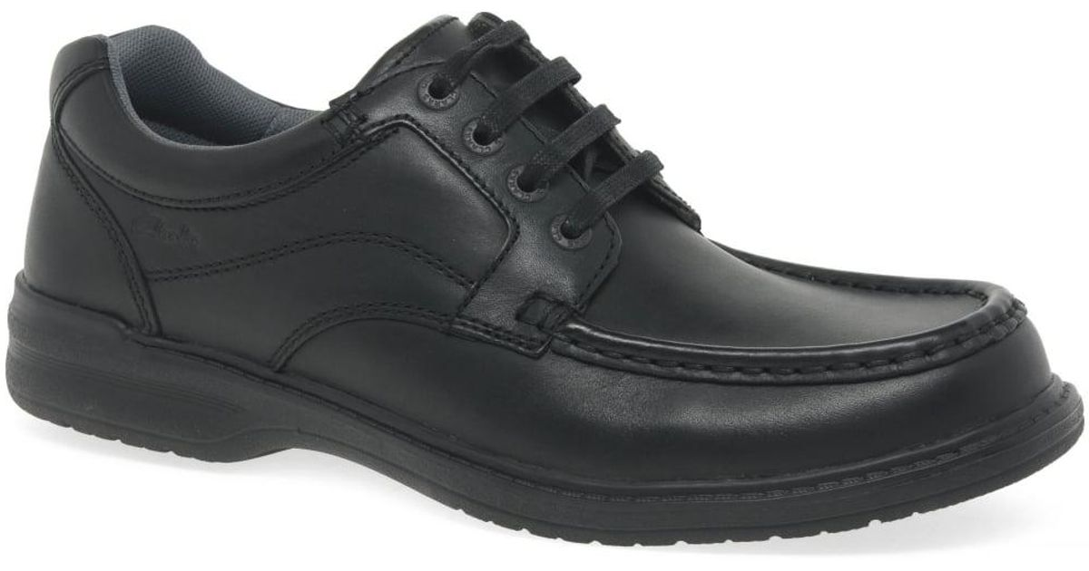 timeless design picked up official Clarks - Black Keeler Walk Mens Casual Shoes for Men - Lyst