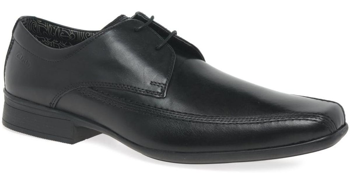 fef3fb014 Clarks Aze Day Mens Formal Lace Up Shoes in Black for Men - Lyst