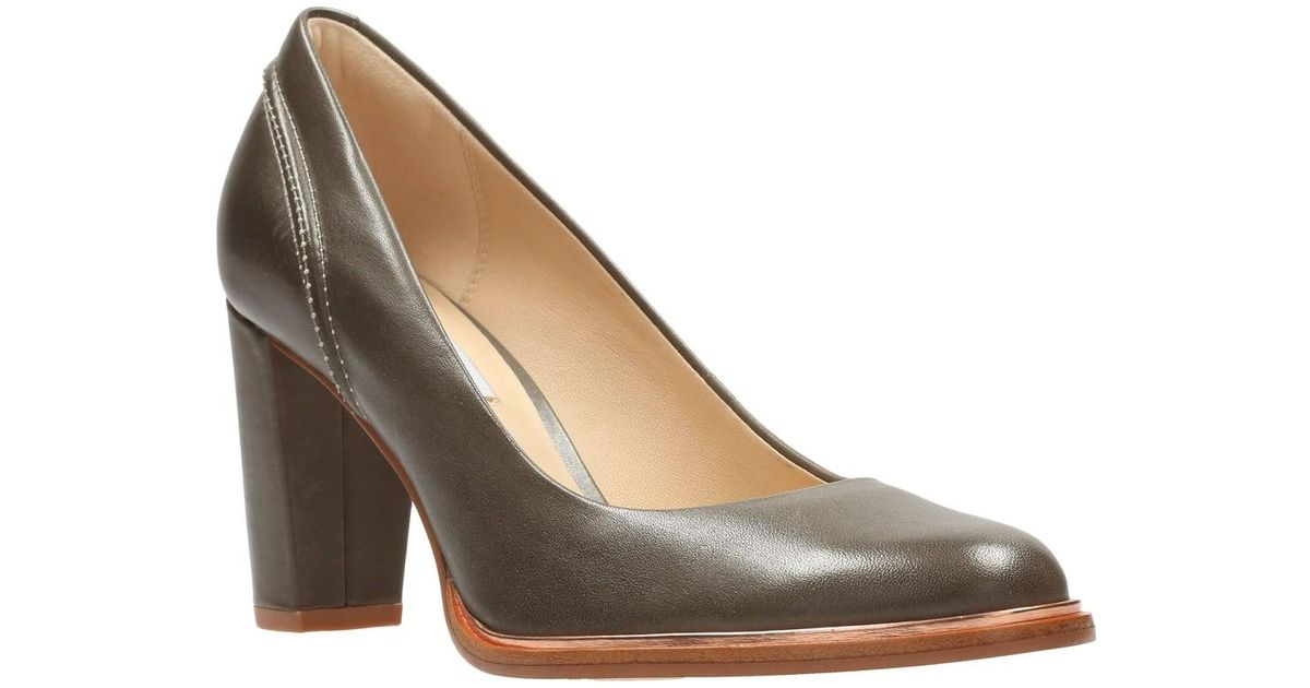 Grey Court Shoes Clarks