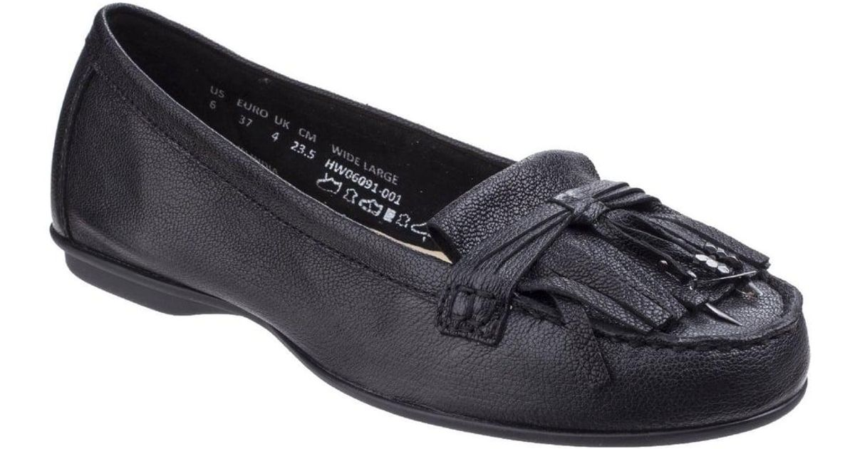 80259006ab1 Lyst - Hush Puppies Naveen Robyn Womens Casual Moccasins in Black