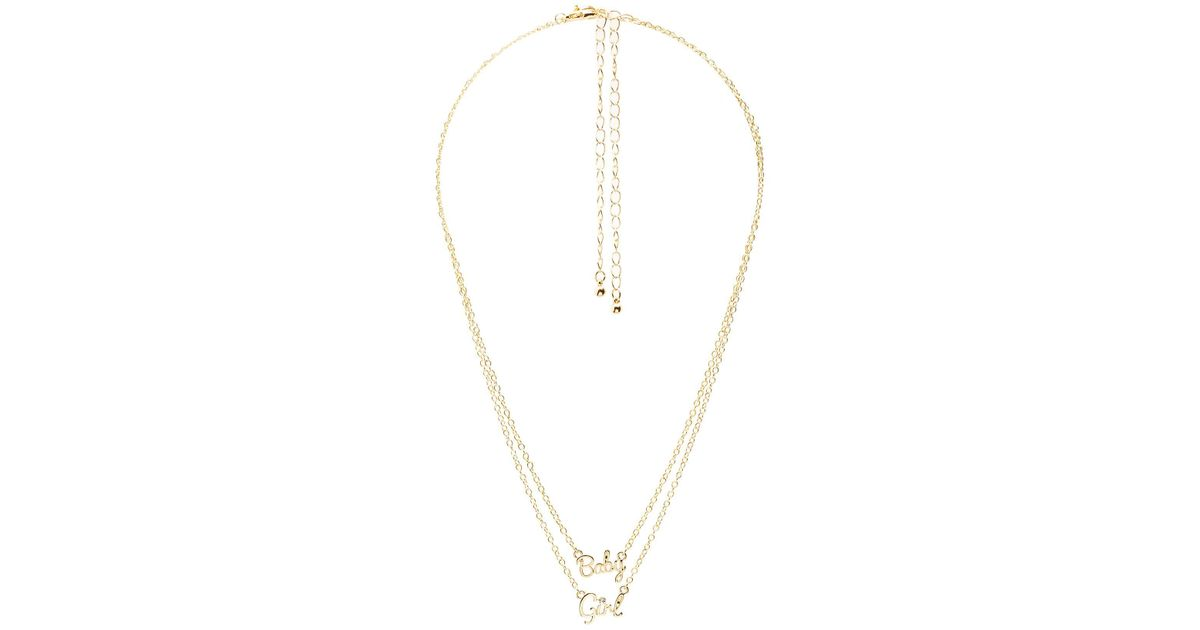 gold girl in girls diamond k rose baby for necklace caymancode shoe pendant