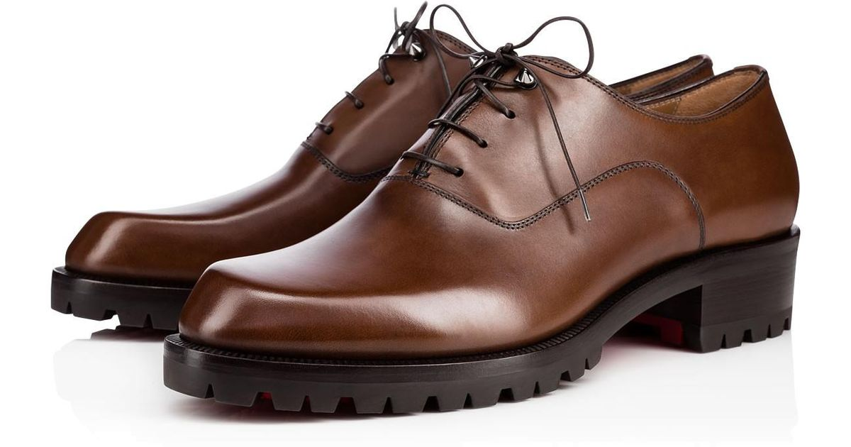 4ba73ce78bf Lyst - Christian Louboutin Sopeter Flat in Brown for Men