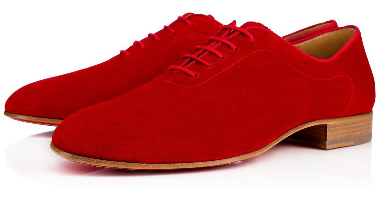 6d4bbdd79458 Lyst - Christian Louboutin Ac Alfred Flat in Red for Men