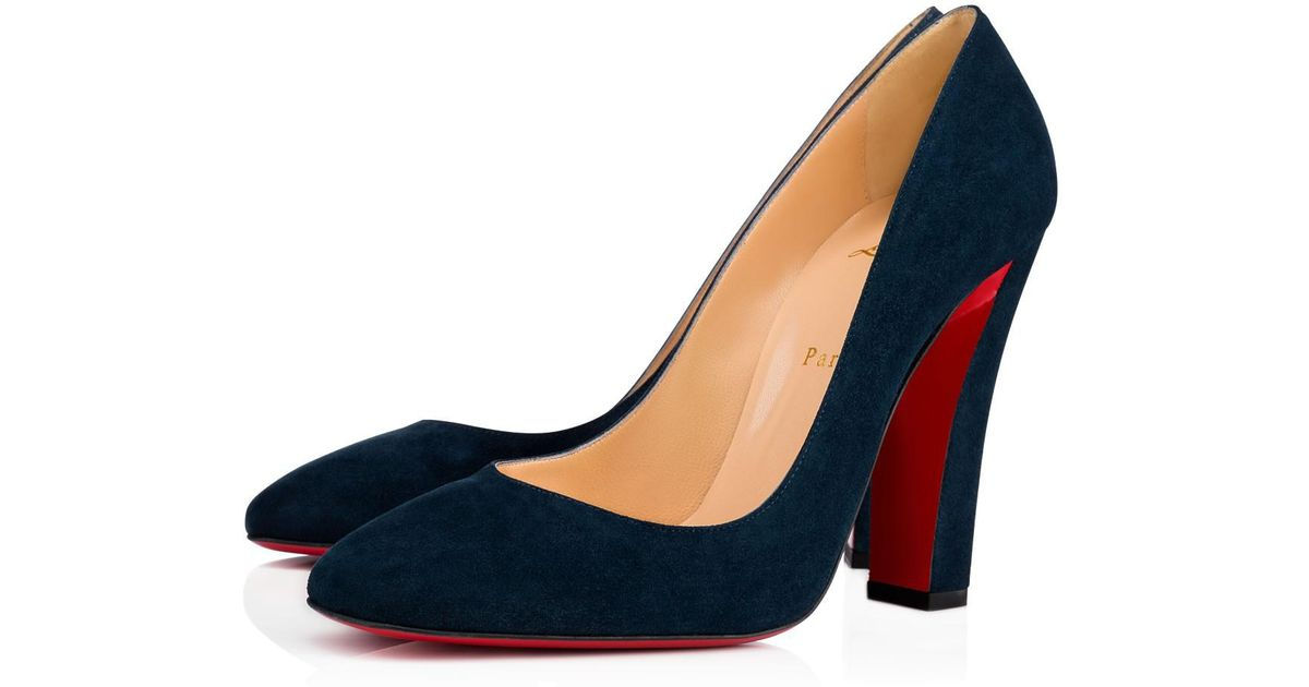 0d328b3586b Lyst - Christian Louboutin Viva Pump in Blue
