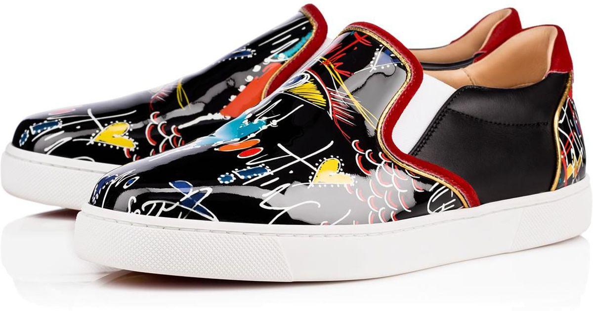 online store 34e35 c7e31 clearance louboutin sneakers neiman marcus menu 9a899 73862