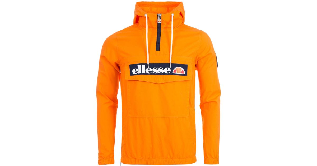 b99f3f16 Ellesse Mont Jacket In Orange Pops for men