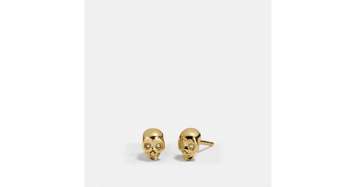 skullpixie steel skull terminator stainless of earrings stud image choice product products stone