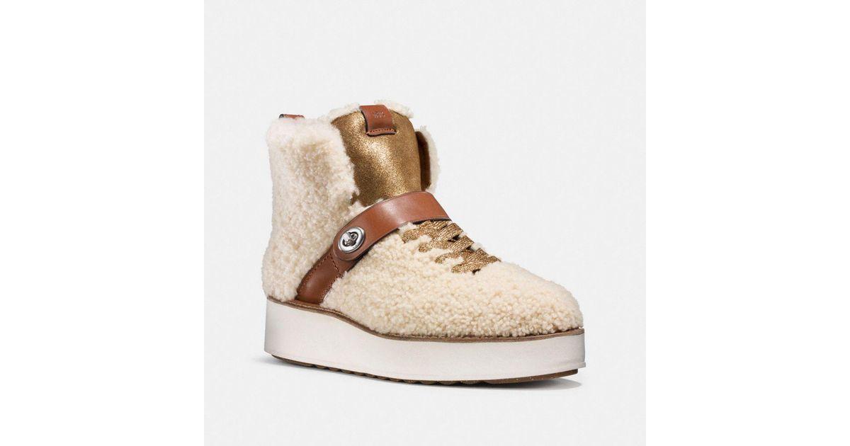 Coach Men Shoes Hiker