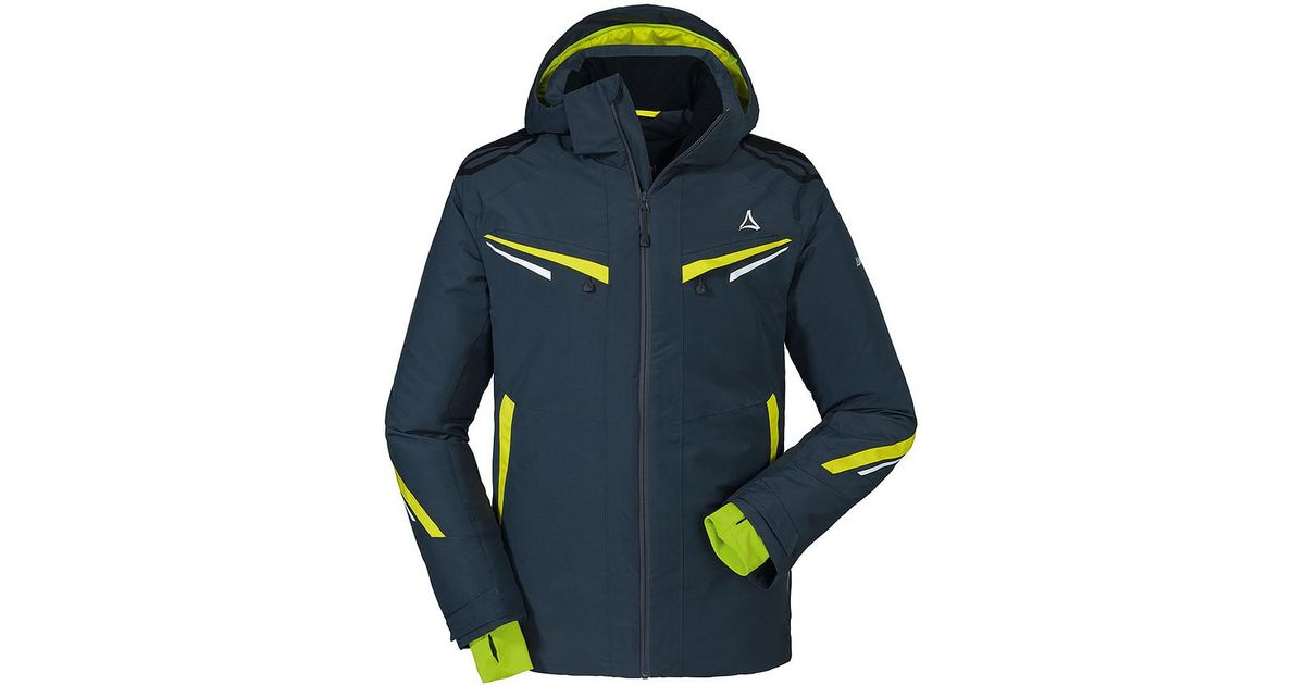 hot products picked up arriving Schoffel Blue Bozen 1 Ski Jacket for men