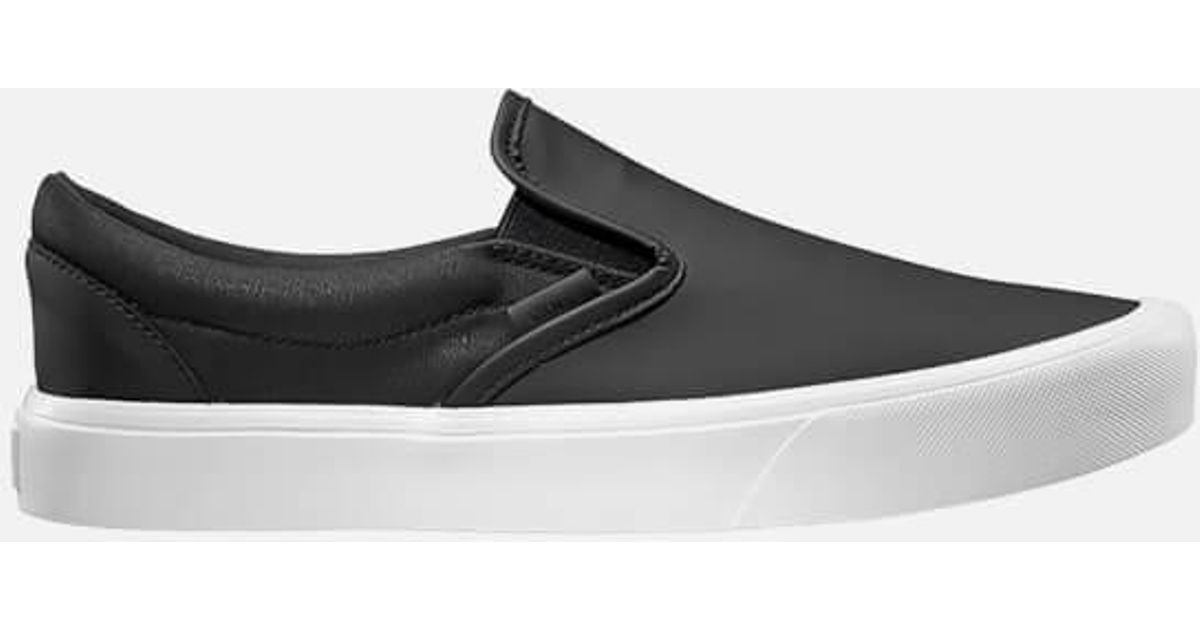 Vans X Rains Men s Slipon Lite Trainers in Black for Men - Lyst fda7756da