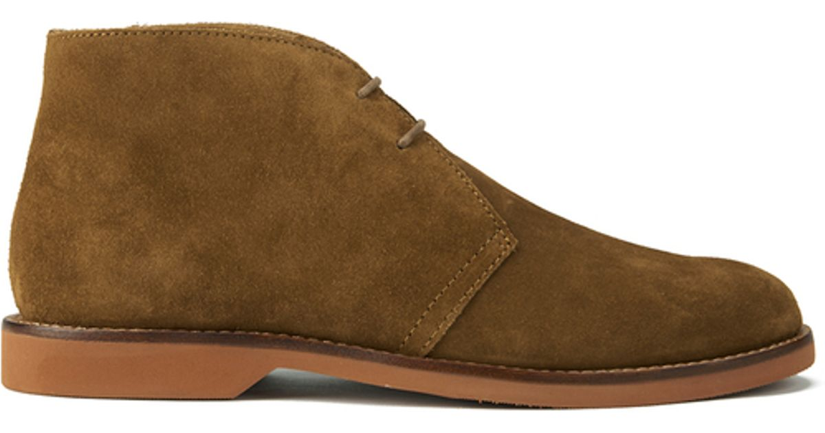 polo ralph s carsey suede desert boots for