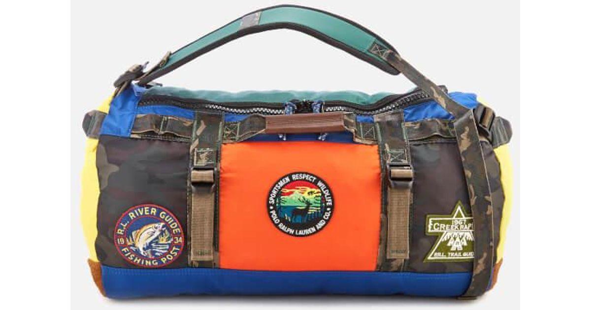 2c436e410983 Lyst - Polo Ralph Lauren Appliquéd Colour-block Nylon Duffle Bag for Men