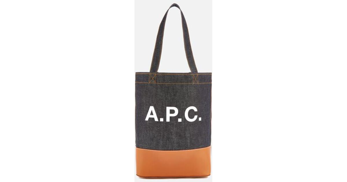 561171216a Lyst - A.P.C. Axel Tote Bag in Black