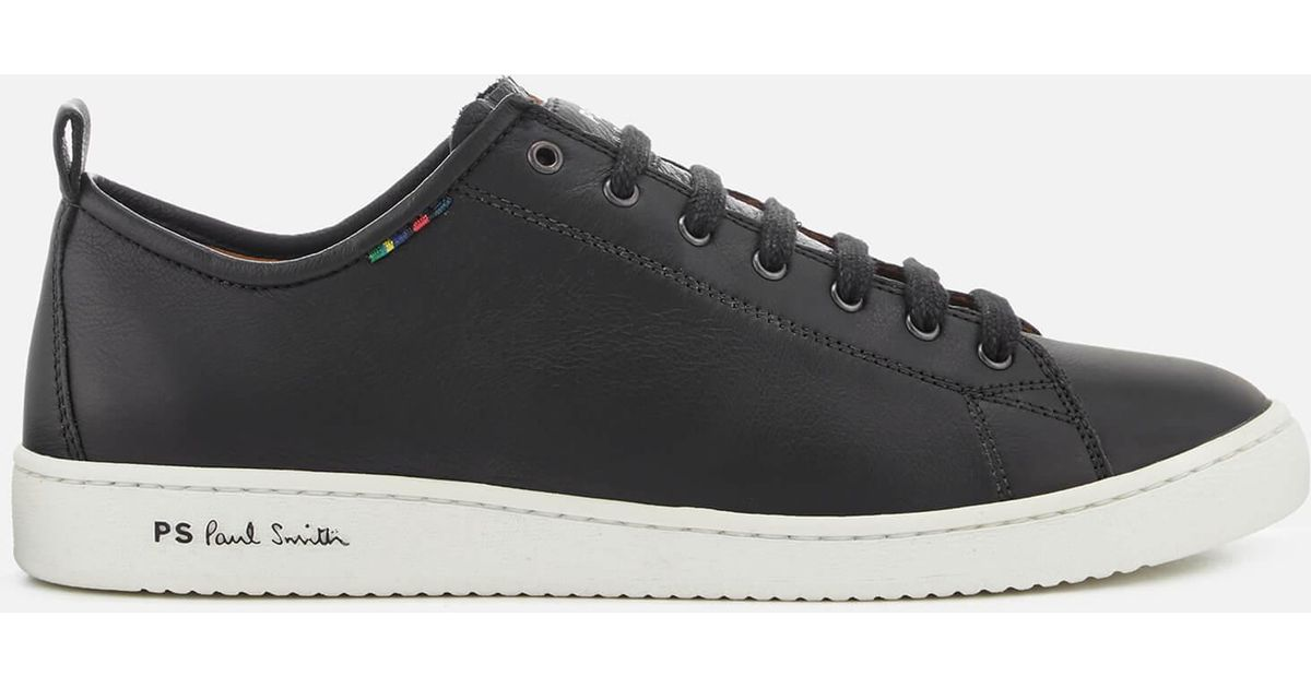 Leather By For In Miyata Cupsole Black Lyst Ps Paul Smith Trainers Men 0mvN8nw