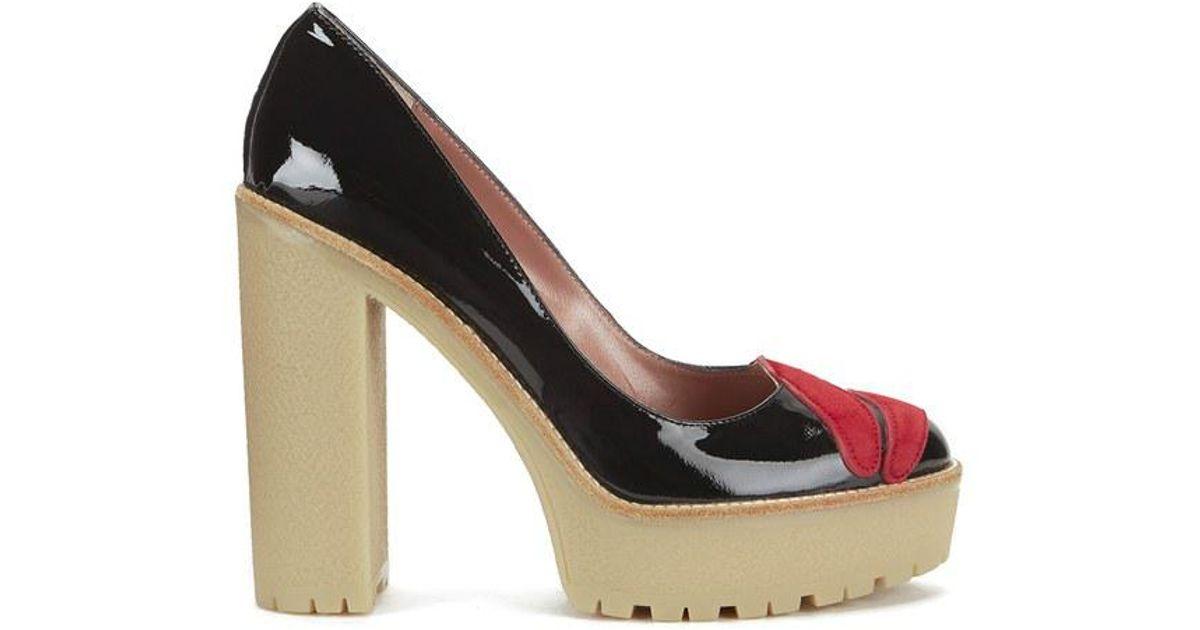 platform sandals - Black Red Valentino vvAUrMx
