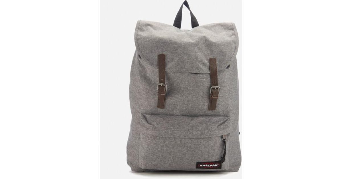 Eastpak Men s London Backpack in Gray for Men - Lyst 74907a55e3e74