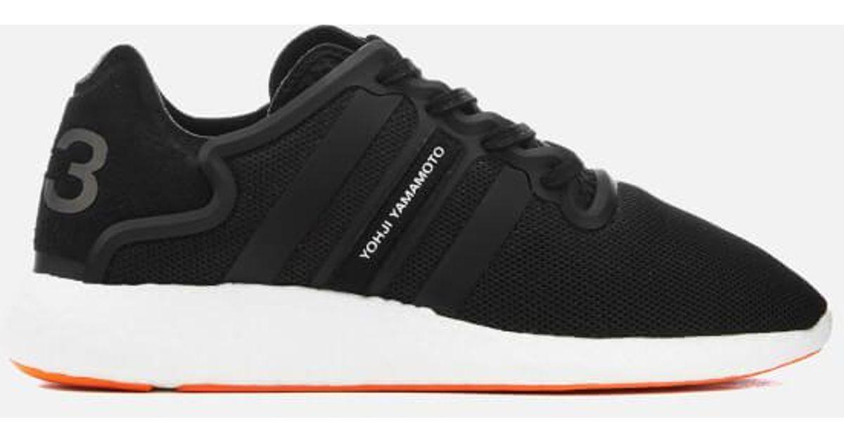 dcfb0a01f Y-3 Y3 Yohji Run Sneakers in Black for Men - Lyst