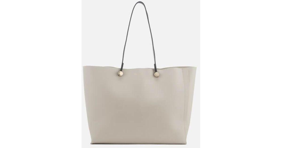 142bd29c33c1be Furla Women's Eden Medium Tote Bag in Natural - Lyst
