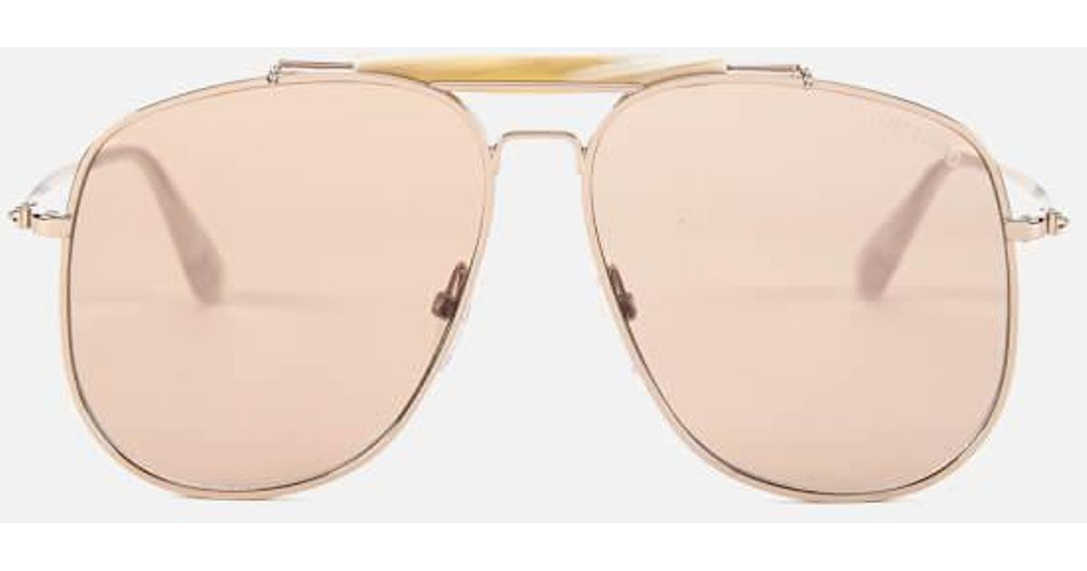925cbab6179 Lyst - Tom Ford Men s Connor Sunglasses in Pink for Men