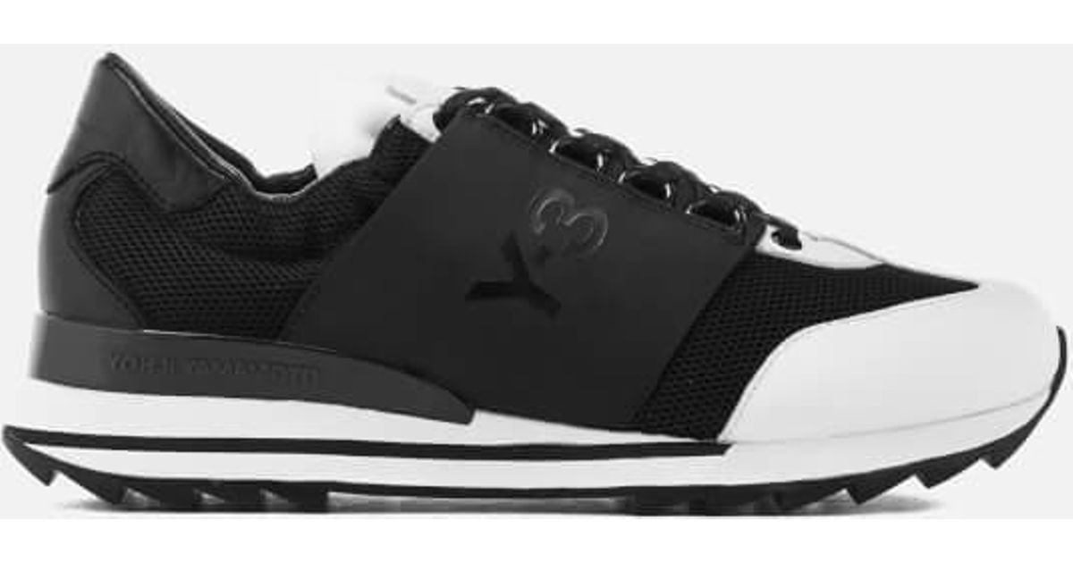 92b1458828f Y-3 Y3 Women s Rhita Sport Sneakers in Black - Lyst