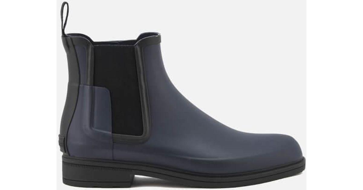 Original Refined Chelsea Boots in Navy