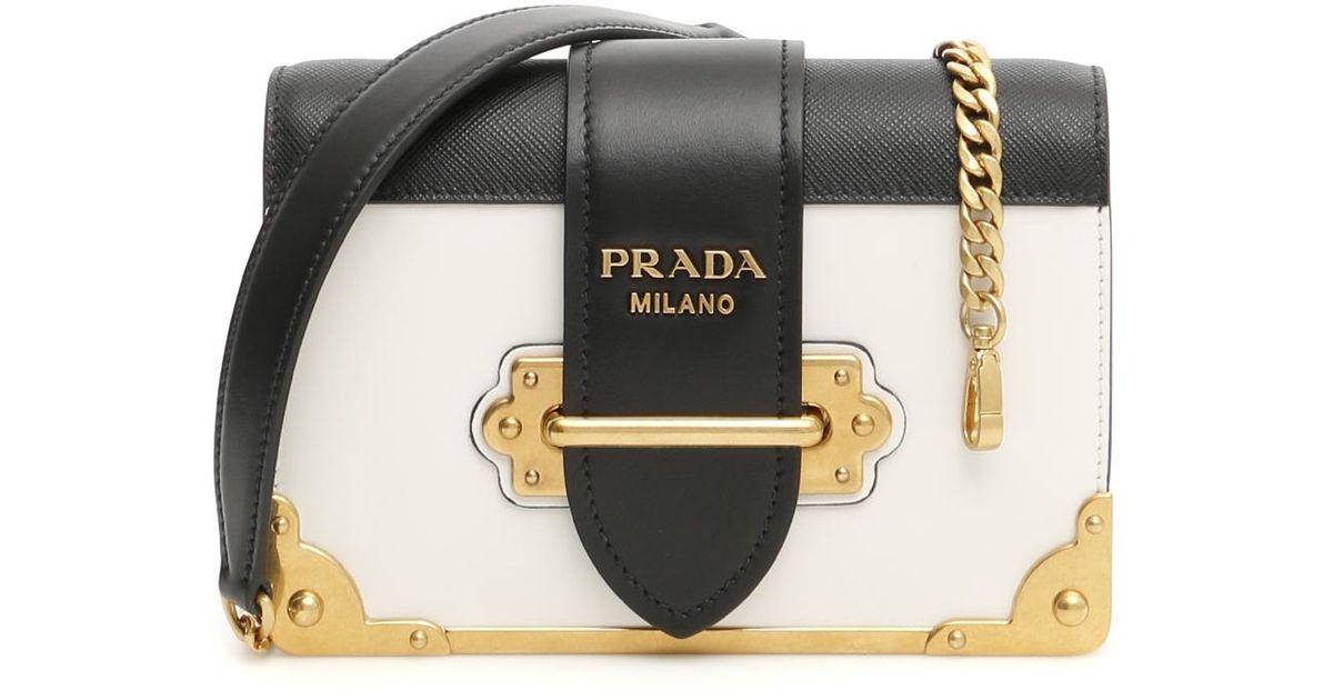 d828db0296b1fd Lyst - Prada Cahier Bag