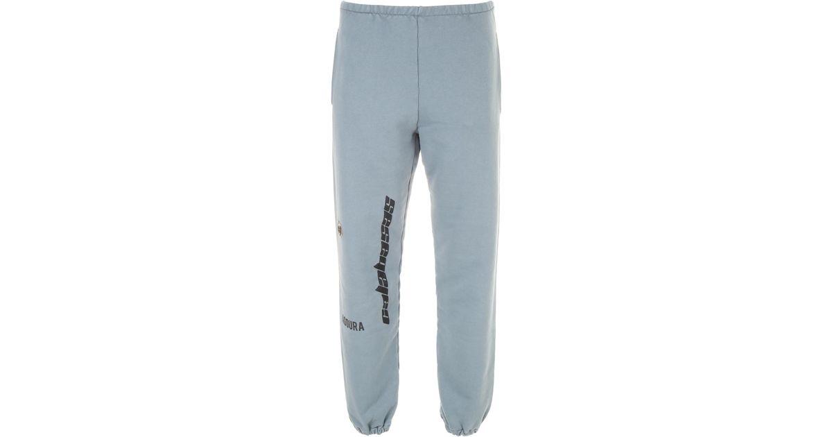 38699209 Yeezy Calabasas Sweatpants in Blue for Men - Lyst