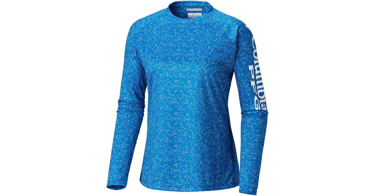 5e53b504 Lyst - Columbia Super Tidal Tee in Blue - Save 10%