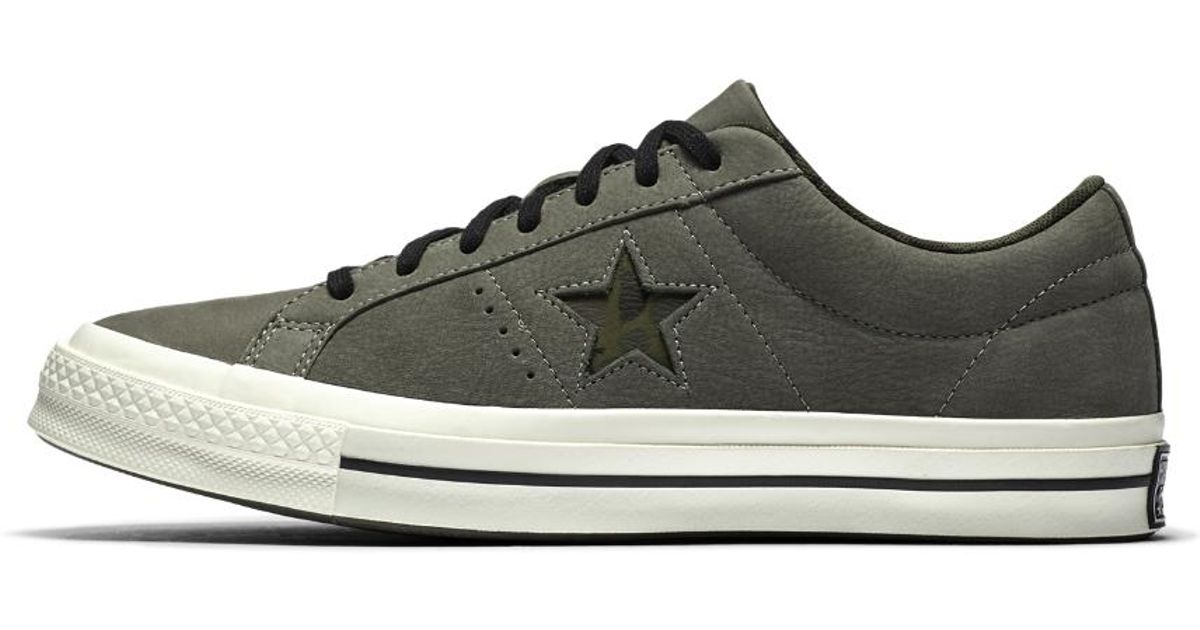 Converse Leather One Star Camo Low Top