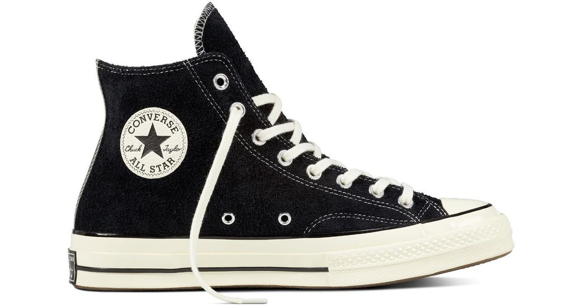 0e4750a44eff14 Converse Chuck Taylor All Star 70 Vintage Suede in Black for Men - Lyst