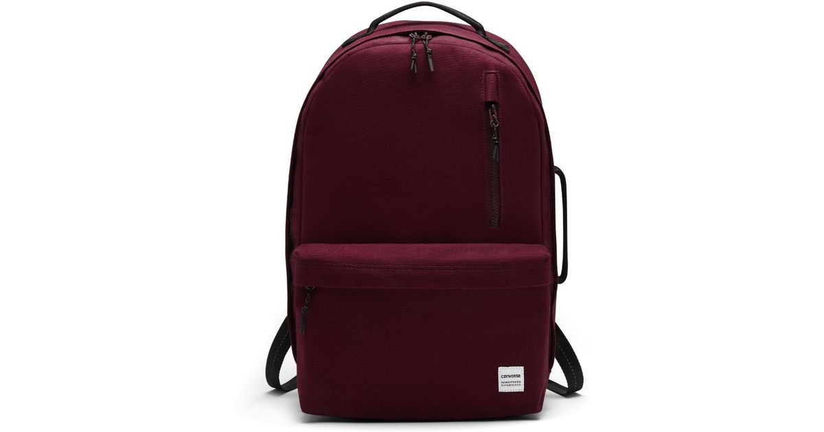 b93fbd9d6794 Lyst - Converse Essentials Backpack (red) in Red for Men