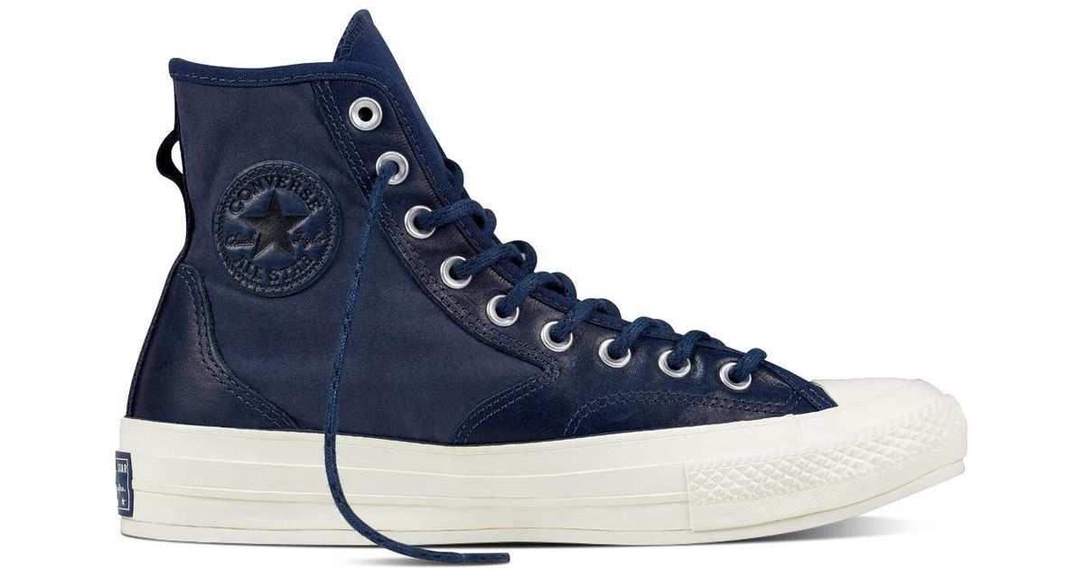 ceff1282f998 Converse Chuck Taylor All Star  70 Hiker Leather Nylon in Blue for Men -  Save 64% - Lyst