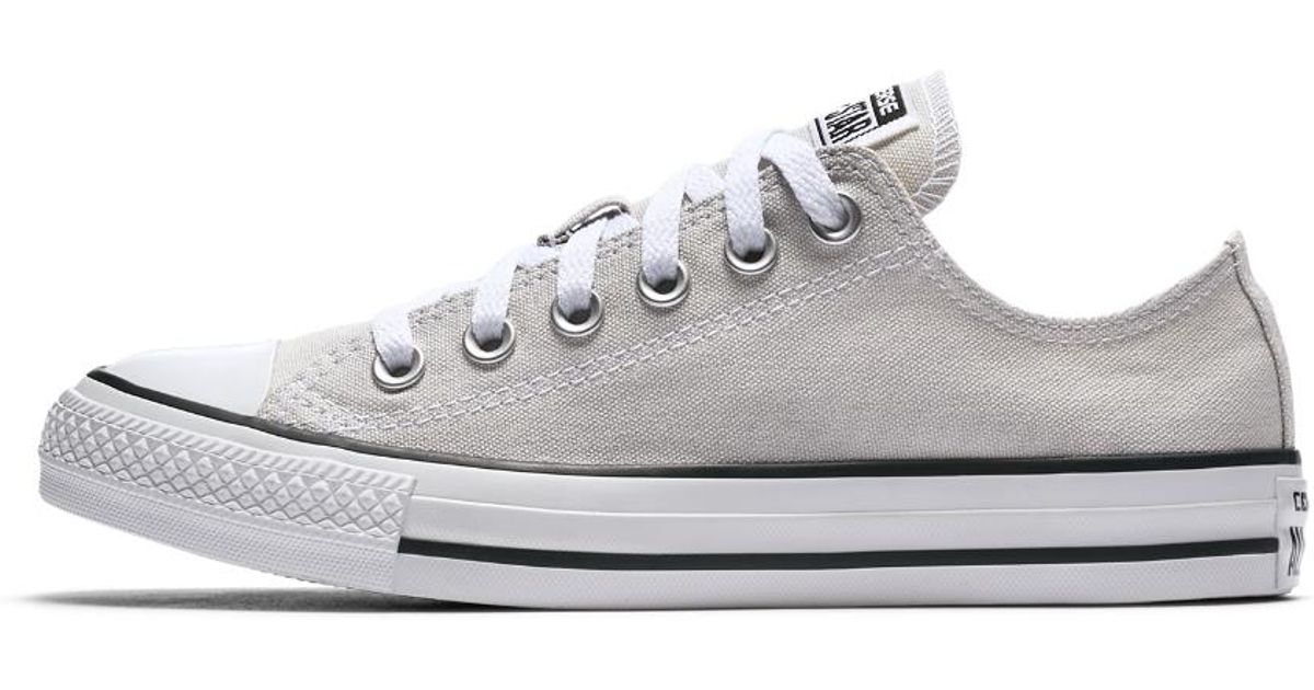 d7142d7fe6c0 Lyst - Converse Chuck Taylor All Star Seasonal Low Top Shoe in White for Men