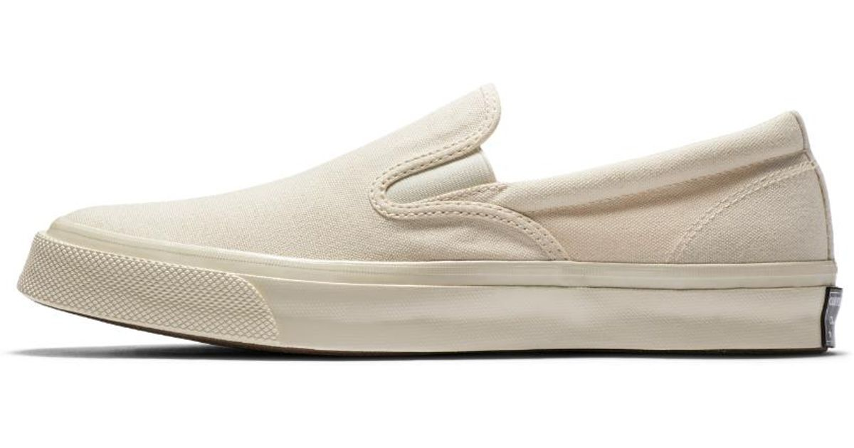 e45597ac1803 Lyst - Converse Chuck Taylor Deck Star 67 Low Top Men s Slip in White for  Men