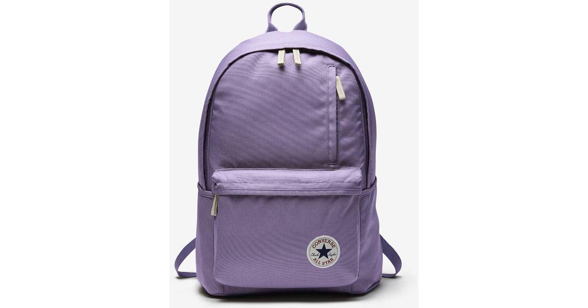436d3adb4a62 Lyst - Converse Original Backpack (purple) in Purple