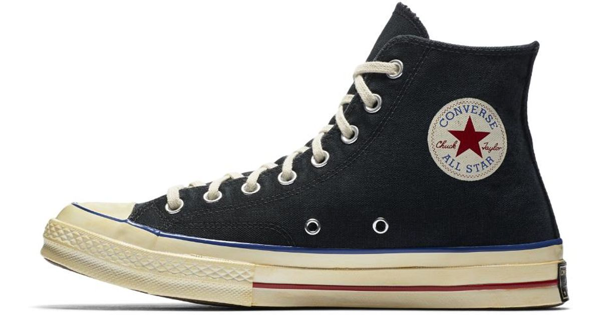 fe061be0e05 Lyst - Converse Chuck 70 Vintage Canvas High Top Shoe in Black for Men