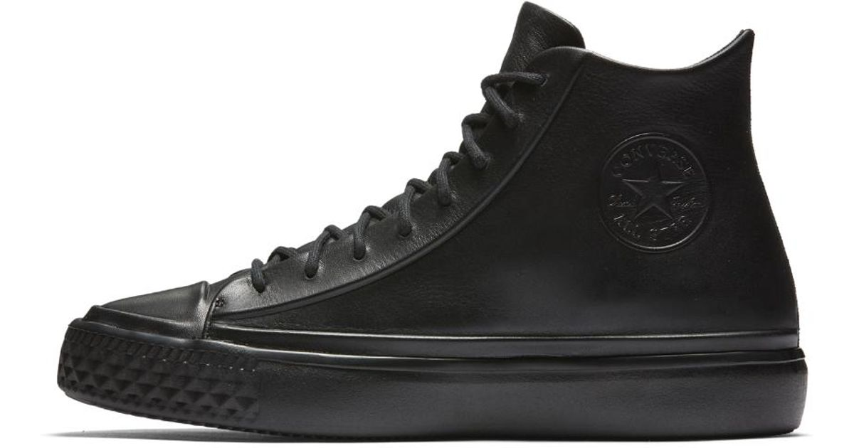 220d439e9ad Converse Black Chuck Taylor All Star Modern Lux Shoe for men