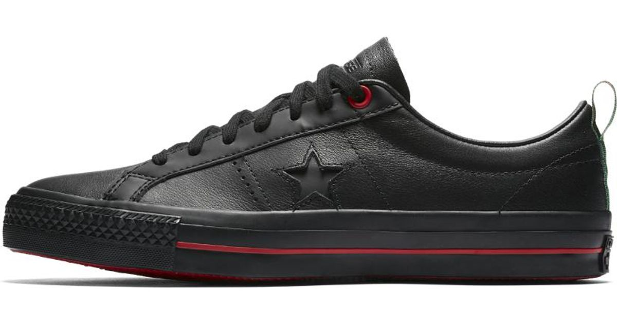 Lyst - Converse Cons One Star Pro Eli Reed Low Top Men s Skateboarding Shoe  in Black for Men 66d3c451ef81