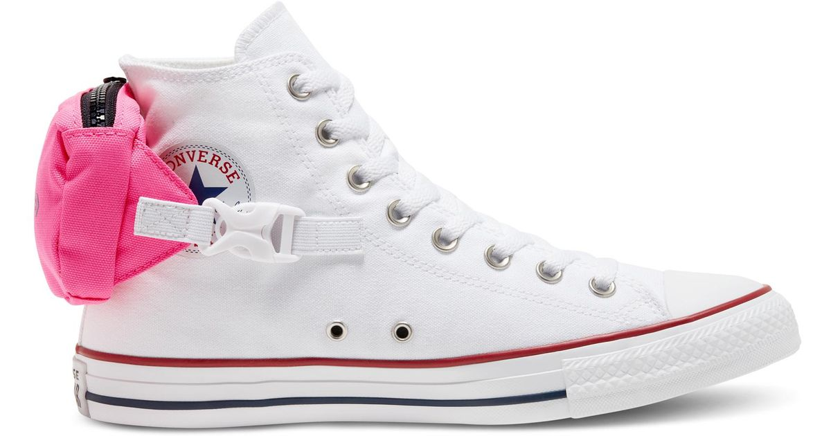 Converse Buckle Up Chuck Taylor All Star in White - Lyst