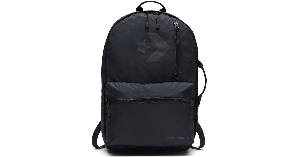 77fa25fd2197 Lyst - Converse Packable 22l Backpack (black) in Black for Men